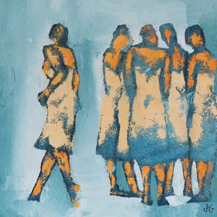 Corinne Malfreyt-Gatel En quête 36 x 36 cm