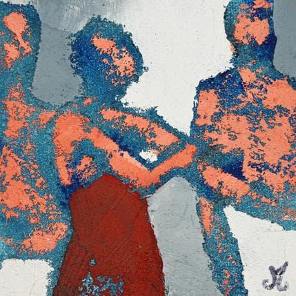 Corinne Malfreyt-Gatel Echange 13 x 13 cm