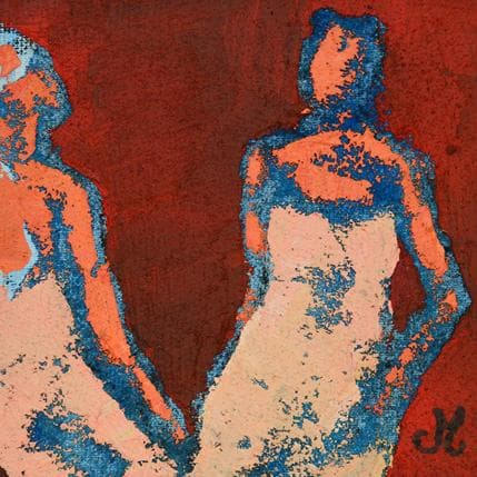 Corinne Malfreyt-Gatel Deux elles 13 x 13 cm