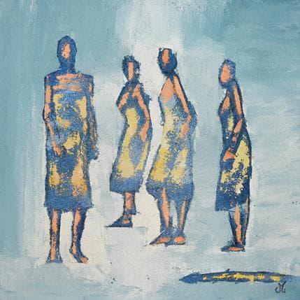 Corinne Malfreyt-Gatel Lumière 36 x 36 cm