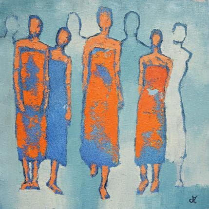 Corinne Malfreyt-Gatel Celles qui 36 x 36 cm