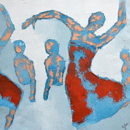 Corinne Malfreyt-Gatel Ils et elles 36 x 36 cm