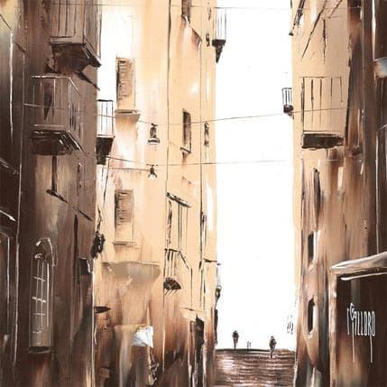 Maurizio Galloro Vers la lumière 36 x 36 cm