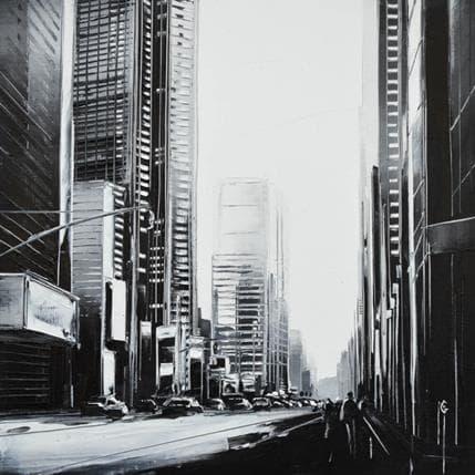 Maurizio Galloro Sensation urbaine 19 x 19 cm