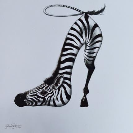 Dennis Gallardo Blanco y negro 36 x 36 cm