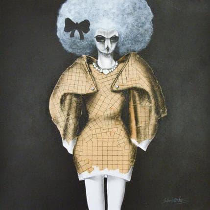 Dennis Gallardo Sofisticada 36 x 36 cm