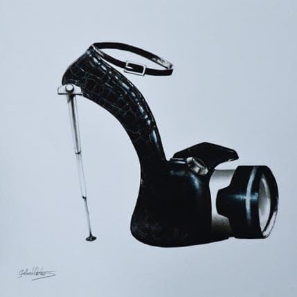 Dennis Gallardo Extravagante 36 x 36 cm