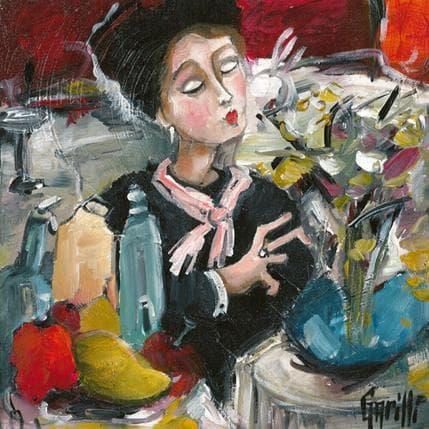 Nicole Garilli Le bouquet 25 x 25 cm