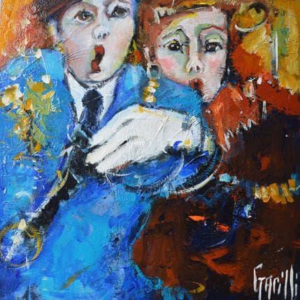 Nicole Garilli Le rythme dans la peau 36 x 36 cm