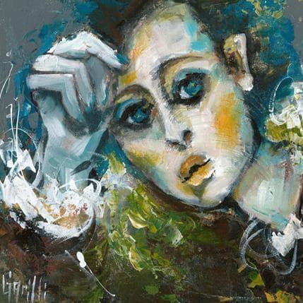 Nicole Garilli Nuit calme 25 x 25 cm