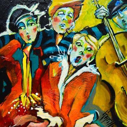 Nicole Garilli Dance party 25 x 25 cm