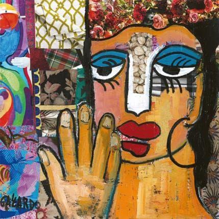 Mercedes Garcia Gallardo Quilieraver algo 36 x 36 cm