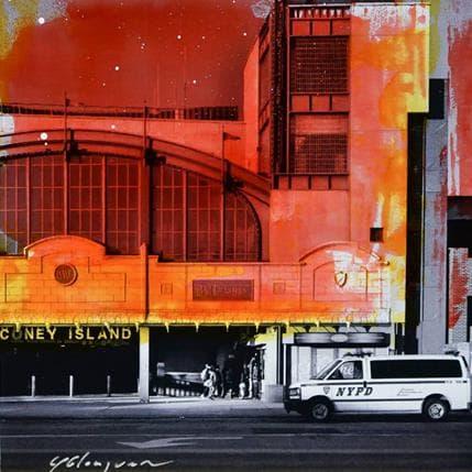 Yohann Gloaguen Coney Island 13 x 13 cm