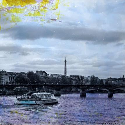 Yohann Gloaguen Pont des arts 25 x 25 cm