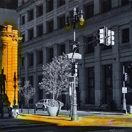 Yohann Gloaguen Sansom street 36 x 36 cm
