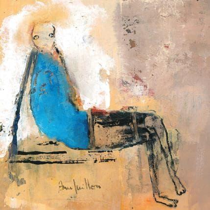 Anne Guillon Le sillage des heures 19 x 19 cm