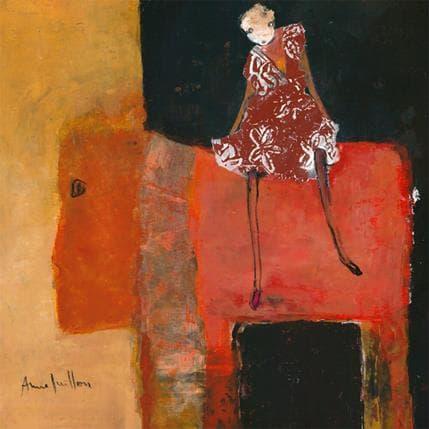 Anne Guillon Alibi au voyage 36 x 36 cm