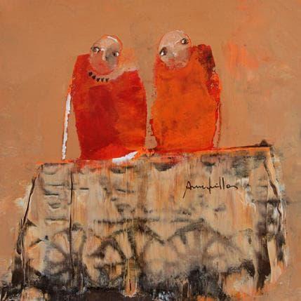 Anne Guillon Cariole 19 x 19 cm