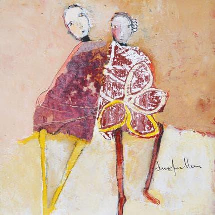 Anne Guillon Derrière les dunes 19 x 19 cm