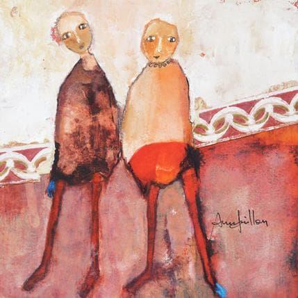 Anne Guillon Au creux d'un soupir 19 x 19 cm