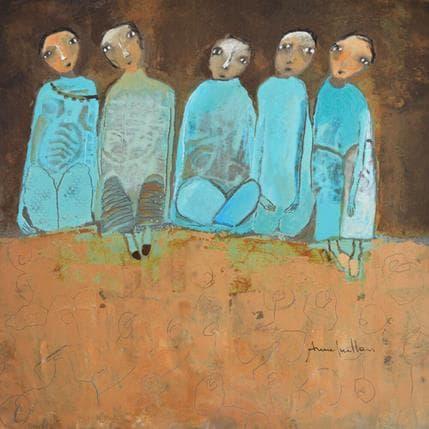 Anne Guillon Radicelles 36 x 36 cm