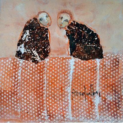 Anne Guillon Connivence 13 x 13 cm
