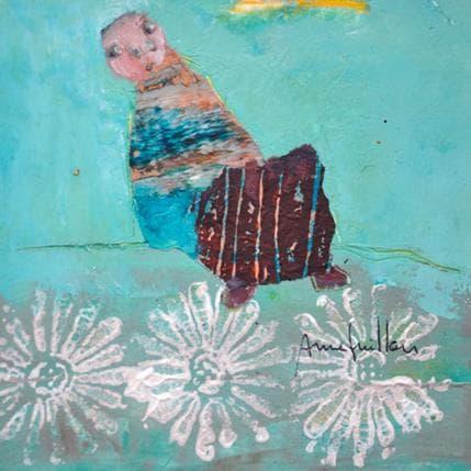 Anne Guillon Le bleu de l'instant 13 x 13 cm