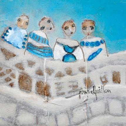 Anne Guillon Ondulation 13 x 13 cm