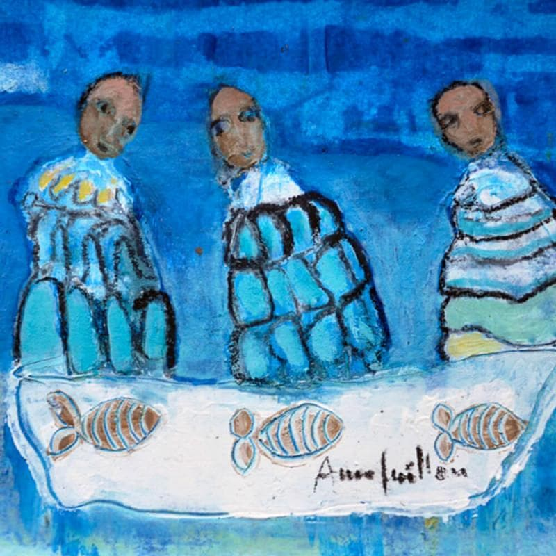 Pêche en bleu