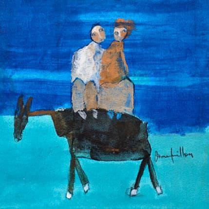 Anne Guillon Creux de la nuit 19 x 19 cm