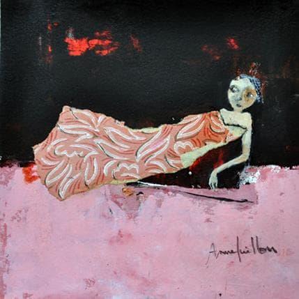 Anne Guillon Baigneuse 19 x 19 cm