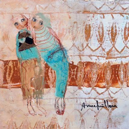 Anne Guillon Langage 19 x 19 cm