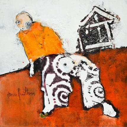 Anne Guillon Racines 13 x 13 cm