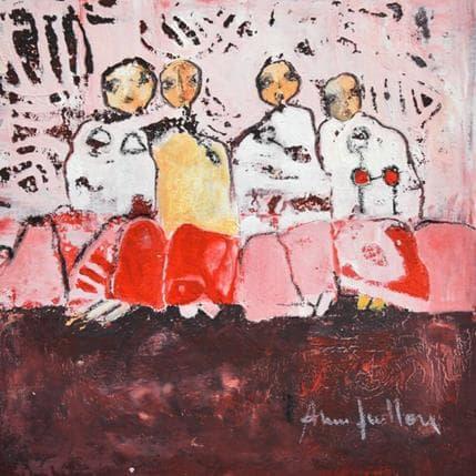 Anne Guillon Scénette 19 x 19 cm