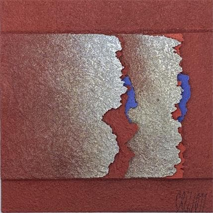 Gérard Clisson Rouge riche 13 x 13 cm