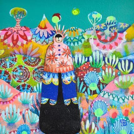 BuiBui Dans le paysage 19 x 19 cm