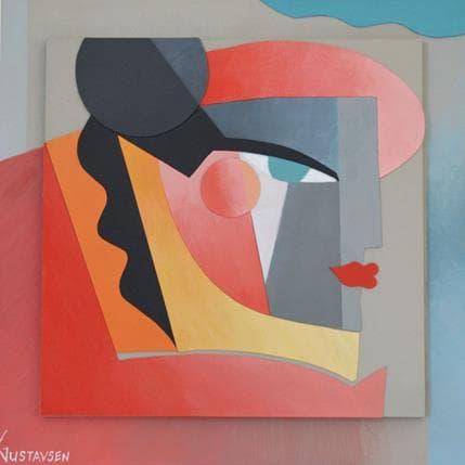 Karl Gustavsen Miami 25 x 25 cm