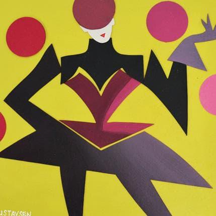 Karl Gustavsen My circus 19 x 19 cm