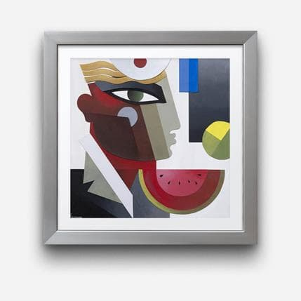 Karl Gustavsen Escale 36 x 36 cm
