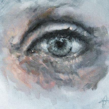 YG Eye étude N°5 13 x 13 cm