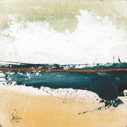 Christian Hévin Abstraction 0207 13 x 13 cm