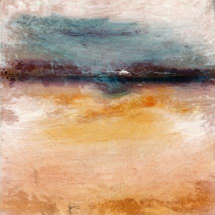 Christian Hévin Abstraction 0189 25 x 25 cm