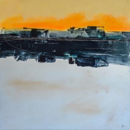Christian Hévin Abstraction 3971 80 x 80 cm