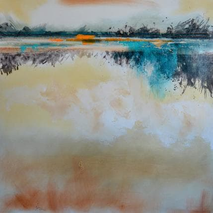 Christian Hévin Abstraction 3976 80 x 80 cm