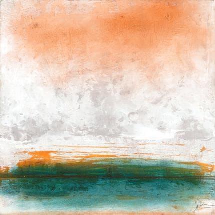 Christian Hévin Abstraction 3861 25 x 25 cm