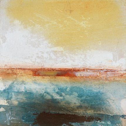 Christian Hévin Abstraction 8233 13 x 13 cm