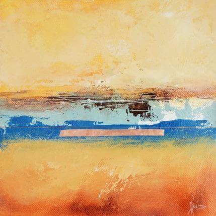 Christian Hévin Abstraction 8220 19 x 19 cm