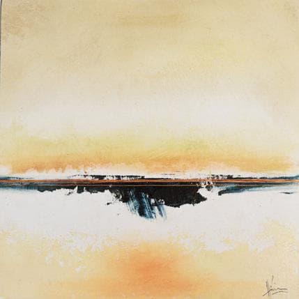 Christian Hévin Abstraction 8207 25 x 25 cm