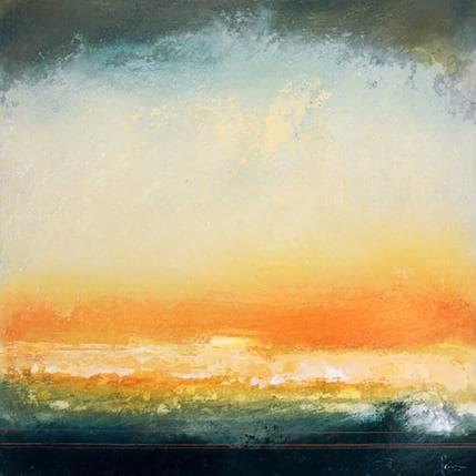 Christian Hévin Abstraction 8198 36 x 36 cm