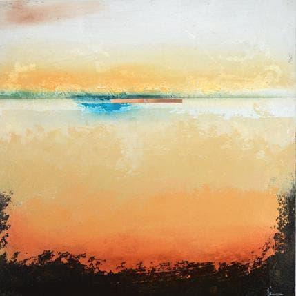 Christian Hévin Abstraction 8195 36 x 36 cm